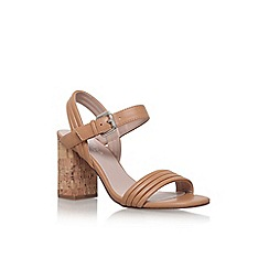 Carvela - Brown 'slick' high heel sandal