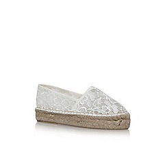 Carvela - Cream 'Super' slip on espadrilles