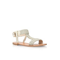 Carvela - Gold 'Kay' low heel sandal