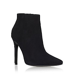 Carvela - Black 'Sand' high heel zip up ankle boot