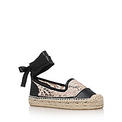 KG Kurt Geiger - Natural 'Matilda' flat sandals