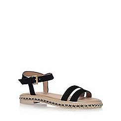 KG Kurt Geiger - Black 'Minny' flat sandals