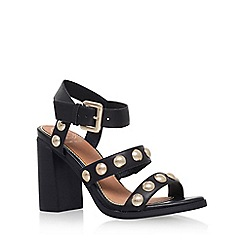 KG Kurt Geiger - Black 'Nutty' high heel sandal