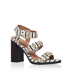 KG Kurt Geiger - Brown 'Nutty' high heel sandal