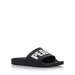 KG Kurt Geiger - Black 'Mystical' flat sandals