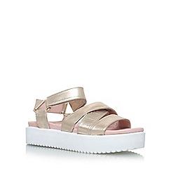 KG Kurt Geiger - Grey 'Miami' Flat Sandals
