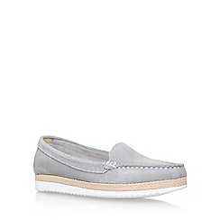 Carvela Comfort - Grey 'Clarice' flat loafers