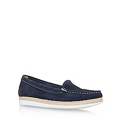 Carvela Comfort - Blue 'Clarice' flat loafers