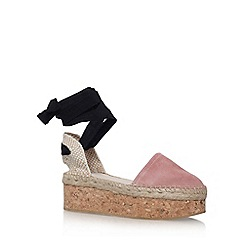 Carvela - Natural 'Kupkake' high heel wedge sandal