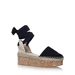 Carvela - Blue 'Kupkake' high heel wedge sandal