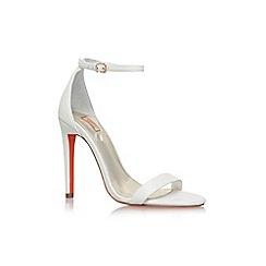 Carvela - White 'Gatsby' high heel sandals