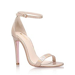 Carvela - Gold 'Gatsby' high heel sandal