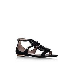 Carvela - Black 'Kelly' flat sandals