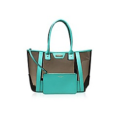 Carvela - Green 'Layla' Perspex Shopper tote handbag