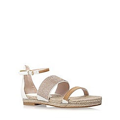 Carvela - White 'Kacie' flat sandal