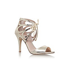 Carvela - Gold 'Kiki' high heel sandal