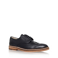KG Kurt Geiger - Black 'Mansel' flat lace up shoes