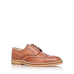 KG Kurt Geiger - Brown 'Mansel' lace up shoes