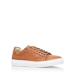 KG Kurt Geiger - Brown 'Murray' flat lace up sneaker