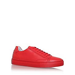 KG Kurt Geiger - Red 'murray' lace up sneaker
