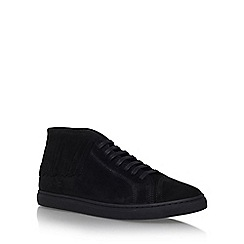 KG Kurt Geiger - Black 'huey' lace up sneakers