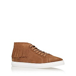 KG Kurt Geiger - Brown 'Huey' lace up sneaker