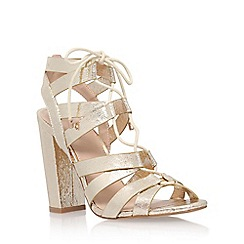 Lipsy - Gold 'Cleo' high heel sandal