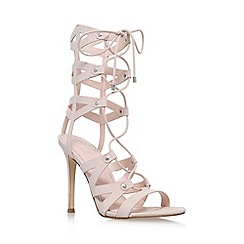 Lipsy - Natural 'Bevan' high heel sandal