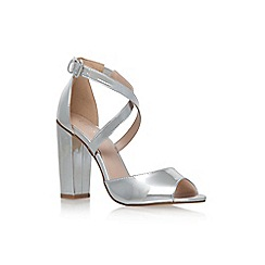 Lipsy - Silver 'Violet' high heel sandals