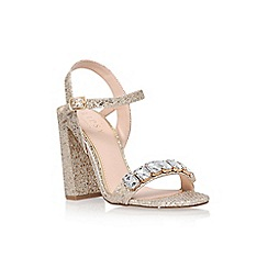 Lipsy - Gold 'Bex' high heel sandal