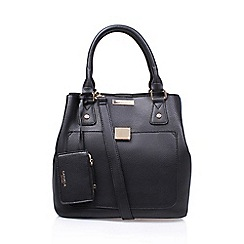 Carvela - Black 'Lily Bucket Bag' handbag with shoulder straps