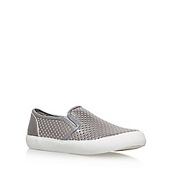 Miss KG - Metal 'Laila' flat slip on sneaker