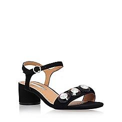 Miss KG - Black 'Rosina' mid heel sandal