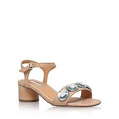 Miss KG - Natural 'Rosina' mid heel sandal
