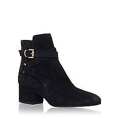 Carvela - Black 'Spartan' mid heel ankle boot