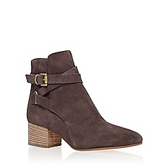 Carvela - Grey 'Spartan' mid heel ankle boot