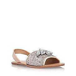 Miss KG - Silver 'Robin' flat sandals