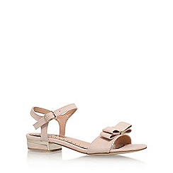 Miss KG - Natural 'Ruby' flat sandal