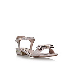 Miss KG - Brown 'Ruby' flat sandals