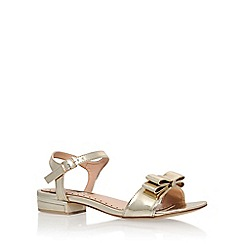 Miss KG - Gold 'Ruby' flat sandal