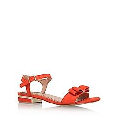 Miss KG - Orange 'Ruby' flat sandal