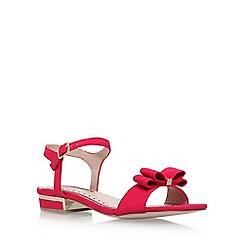 Miss KG - Pink Ruby low heel sandals