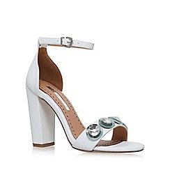 Miss KG - White 'Rani' high heel sandal