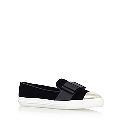 Miss KG - Black 'Lisa' Flat Slip On Sneakers