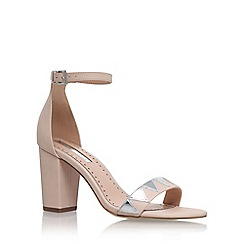 Miss KG - Natural 'Faye 2' sling back high heel