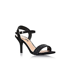 Miss KG - Black 'Poison' sling back high heel