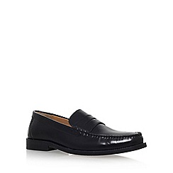 KG Kurt Geiger - Black 'Fairford' flat loafers