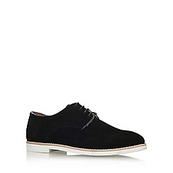KG Kurt Geiger - Black 'Finsbury' Flat Lace Up Shoe