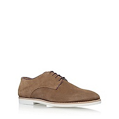 KG Kurt Geiger - Brown 'Finsbury' flat lace up shoes