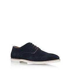 KG Kurt Geiger - Blue 'Finsbury' flat lace up shoes